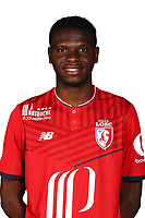 Rominigue Kouame during Photoshooting of Lille for new season 2017/2018 on September 27, 2017 in Lille, France. (Photo by Losc/Icon Sport)