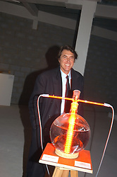 Singer BRYAN FERRY at an exhibition of work by Rolf Sachs - a unique world-renowned contemporary furniture designer, held in association with the Louisa Guinness Gallery and held at 250 Brompron Road, London on 6th October 2004.<br /><br />NON EXCLUSIVE - WORLD RIGHTS