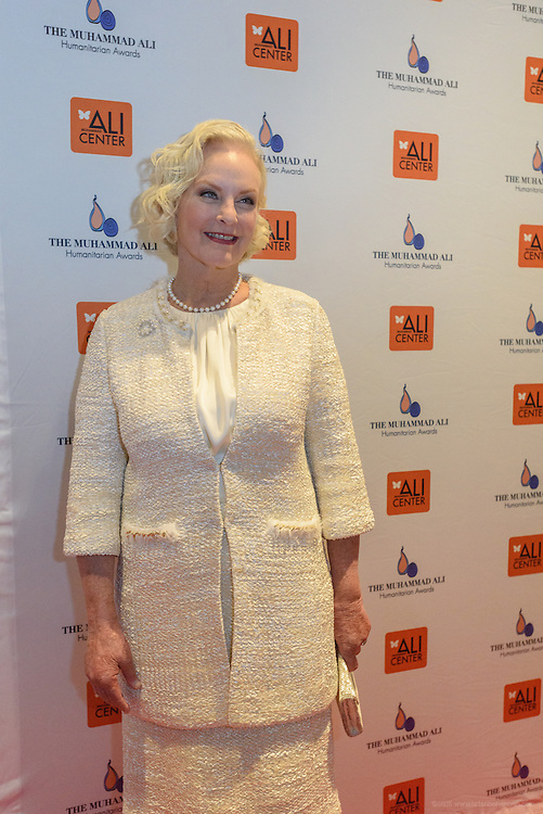 Philanthropist and businesswoman Cindy Hensley McCain on the red carpet at the fourth annual Muhammad Ali Humanitarian Awards Saturday, Sept. 17, 2016 at the Marriott Hotel in Louisville, Ky. (Photo by Brian Bohannon for the Muhammad Ali Center)