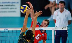 06-10-2002 ARG: World Championships Netherlands - Brasil, Santa Fe<br /> Richard Schuil <br /> NEDERLAND - BRAZILIE 0-3<br /> WORLD CHAMPIONSHIP VOLLEYBALL 2002 ARGENTINA<br /> SANTA FE / 06-10-2002