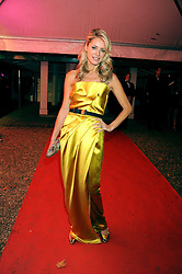 TESS DALY at the End of Summer Ball in support of The Prince's Trust in Berkeley Square, London on 25th September 2008.