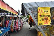 Nederland, Wijchen, 28-8-2014 Opde markt is paardenvlees goedkoop en in de aanbieding. FOTO: FLIP FRANSSEN/ HOLLANDSE HOOGTE