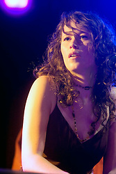 17 December, 05. Tipitina's, New Orleans, Louisiana.<br />  Arlo Guthrie and friends Riding on the city of New Orleans tour benefiting Musicares Hurricane relief 2005 sponsored by Amtrak. Sarah Lee Guthrie   wows the crowd on the last date of the hugely successful tour raising money for hard hit New Orleans musicians.<br /> Photo; ©Charlie Varley/varleypix.com