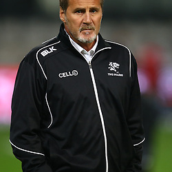 DURBAN, SOUTH AFRICA - JULY 15: Robert du Preez (Assistant Coach) of the Cell C Sharks during the Super Rugby match between the Cell C Sharks and Sunwolves at Growthpoint Kings Park on July 15, 2016 in Durban, South Africa. (Photo by Steve Haag/Gallo Images)