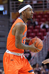 10 December 2016:  Fatodd Lewis during an NCAA  mens basketball game between the UT Martin Skyhawks and the Illinois State Redbirds in a non-conference game at Redbird Arena, Normal IL