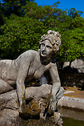 Statue of the goddess Venus in the Giardino del Balio Erice