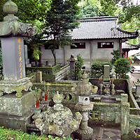 Cemetery at Sofukuji Temple in Nagasaki, Japan<br />