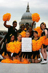 Southwark Tigers Cheerleaders