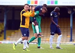 September 30, 2017 - Southend, England, United Kingdom - Mark Oxley of Southend United.during Sky Bet League one match between Southend United against Blackpool at  Roots Hall,  Southend on Sea England on 30 Sept  2017  (Credit Image: © Kieran Galvin/NurPhoto via ZUMA Press)