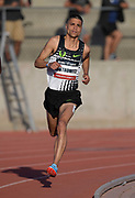 May 17, 2018; Los Angeles, CA, USA; Matt Centrowitz places fifth  in the 800m in 1:48.41 during the USATF Distance Classic at Occidental College.