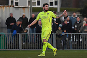 Havant & Waterlooville Ryan Woodford (5) scores first goal 0-1 Havant during the Ryman Premier League match between Bognor Regis Town and Havant & Waterlooville FC at Nyewood Lane, Bognor, United Kingdom on 26 December 2016. Photo by Jon Bromley.