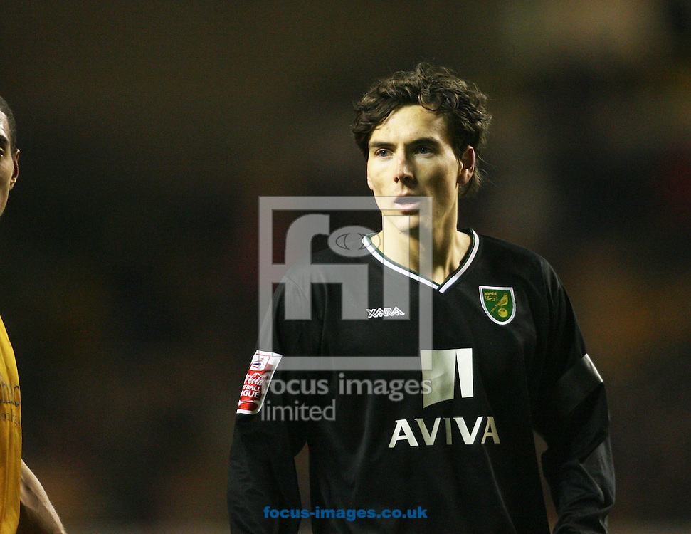 Wolverhampton - Tuesday February 3rd, 2009: Alan Gow of Norwich City during the Coca Cola Championship match at Molineaux, Wolverhampton. (Pic by Chris Ratcliffe/Focus Images)