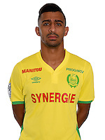 Hicham Mlaab during photocall of Fc Nantes for new season of Ligue 1 on September 14th 2016<br /> Photo : Fcna / Icon Sport