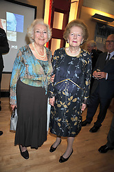 Left to right, DAME VERA LYNN and BARONESS THATCHER at the launch of the Imperial War Museum's 70th anniversary commemorating the outbreak of World War 11 held at the Cabinet War Rooms, Whitehall, London on 2nd September 2009.