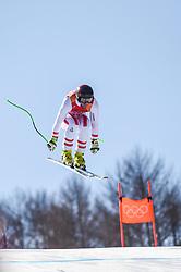 February 15, 2018 - Jeongseon, Gangwon, South Korea - Vincent Kriechmayr of Austria competing in mens downhill at Jeongseon Alpine Centre at Jeongseon , South Korea on February 15, 2018. (Credit Image: © Ulrik Pedersen/NurPhoto via ZUMA Press)