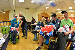 Captains meeting at 2018 World Para Alpine Skiing Cup, Kranjska Gora, Slovenia