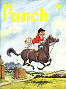 Punch (Front cover, 12 November 1958)