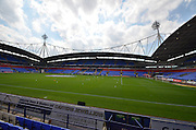 Macron Stadium during the Sky Bet Championship match between Bolton Wanderers and Derby County at the Macron Stadium, Bolton, England on 8 August 2015. Photo by Mark Pollitt.