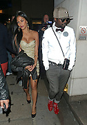 07.OCTOBER.2012. NEW YORK<br /> <br /> NICOLE SCHERZINGER AND WILL I AM LEAVING WHISKEY MIST NIGHT CLUB IN MAYFAIR, LONDON.<br /> <br /> BYLINE: EDBIMAGEARCHIVE.CO.UK<br /> <br /> *THIS IMAGE IS STRICTLY FOR UK NEWSPAPERS AND MAGAZINES ONLY*<br /> *FOR WORLD WIDE SALES AND WEB USE PLEASE CONTACT EDBIMAGEARCHIVE - 0208 954 5968*