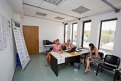 Playyers desk at ATP Challenger Zavarovalnica Sava Slovenia Open 2017, on August 8, 2017 in Sports centre, Portoroz/Portorose, Slovenia. Photo by Urban Urbanc / Sportida
