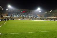 Fotball, 4. november 2003, Champions League,, Club Brugge ( Brügge )-Milan,  Jan Breydel stadion, Brugge, JanBreydel stadion, illustrasjon, fotballbane