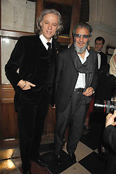 Left to right, SIR BOB GELDOF and YUSUF ISLAM former known as Cat Stevens at the 2nd Fortune Forum Summit and Gala Dinner held at the Royal Courts of Justice, The Strand, London on 30th November 2007.<br />
