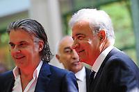 Vincent LABRUNE / Bernard CAIAZZO  - 17.05.2015 - Ceremonie des Trophees UNFP 2015<br /> Photo : Nolwenn Le Gouic / Icon Sport