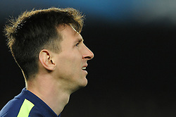 Barcelona's Lionel Messi - Photo mandatory by-line: Dougie Allward/JMP - Mobile: 07966 386802 - 18/03/2015 - SPORT - Football - Barcelona - Nou Camp - Barcelona v Manchester City - UEFA Champions League - Round 16 - Second Leg