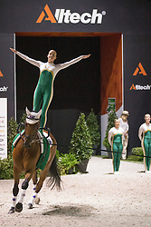 Team AUS, Zidane B, Meta Jans Rooijmans - Squad compulsory - Alltech FEI World Equestrian Games™ 2014 - Normandy, France.<br /> © Hippo Foto Team - Dirk Caremans<br /> 02/09/14