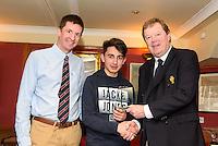 Joseph Karauzum, CAYC/ Ballyholme 1st place under 17.