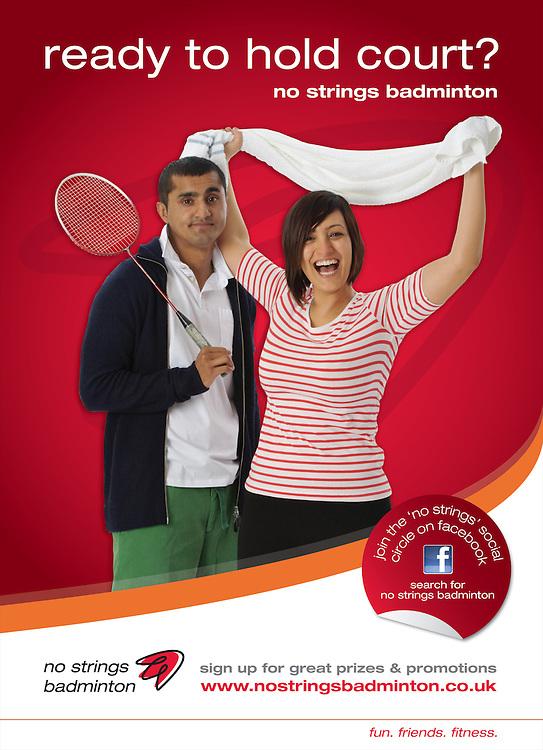 Badminton England, No Strings Badminton Campaign