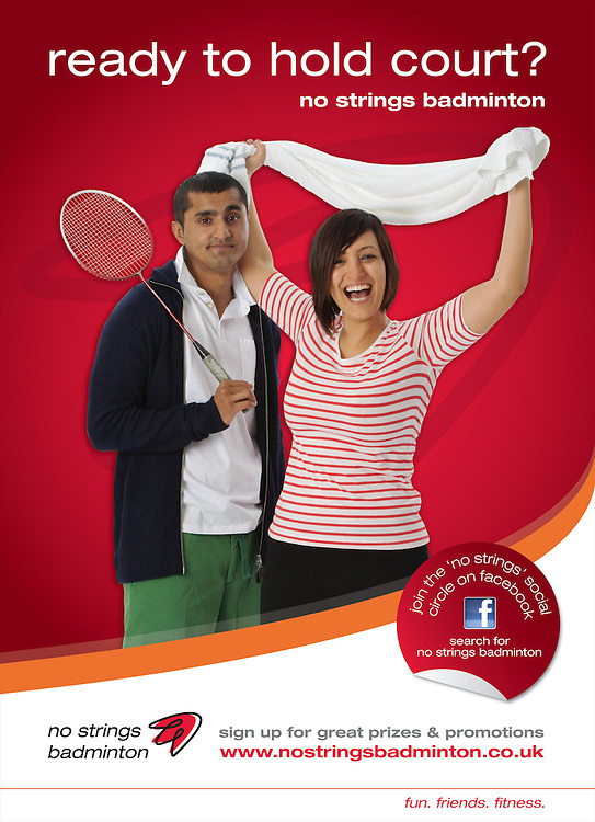 Badminton England, No Strings Badminton Campaign