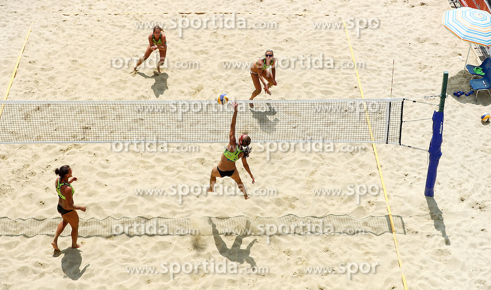 View on the court during Beach Volleyball Slovenian National Championship 2016, on July 23, 2016 in Kranj, Slovenia. Photo by Matic Klansek Velej / Sportida
