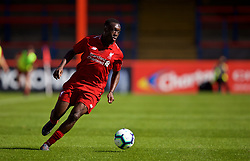 LONDON, ENGLAND - Saturday, September 29, 2018: Liverpool's Bobby Adekanye during the Under-23 FA Premier League 2 Division 1 match between Chelsea FC and Liverpool FC at The Recreation Ground. (Pic by David Rawcliffe/Propaganda)