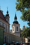 A view of St. Michael's church/baznycia, Old Town/Senamiestas, Vilnius, Lithuania