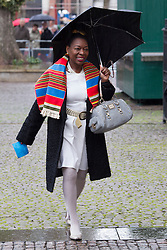 LONDON- UK- 03- MAR-2014: Britain's Prince Harry represents The Queen at a National Service of Thanksgiving to celebrate the life of Nelson Mandela, former President of the Republic of South Africa. Westminster Abbey, London.<br /> Floella Benjamin<br /> Photograph by Ian Jones