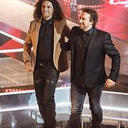 NLD/Hilversum/20160129 - Finale The Voice of Holland 2016, Marco Borsato en Ali B