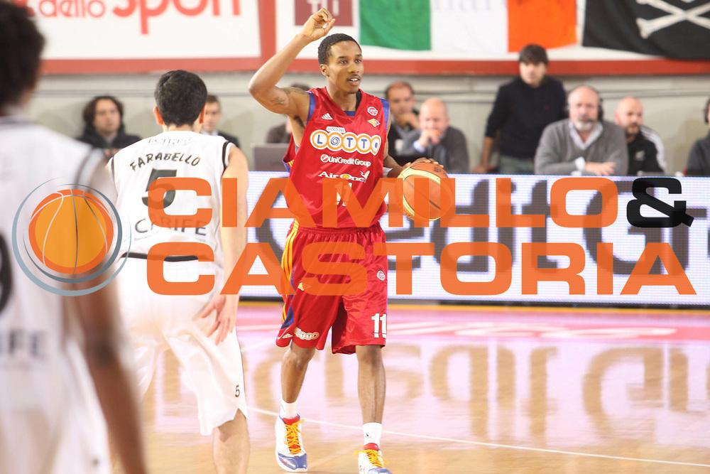 DESCRIZIONE : Roma Lega A 2008-09 Lottomatica Virtus Roma Carife Ferrara<br /> GIOCATORE : Brandon Jennings<br /> SQUADRA : Lottomatica Virtus Roma<br /> EVENTO : Campionato Lega A 2008-2009<br /> GARA : Lottomatica Virtus Roma Carife Ferrara<br /> DATA : 29/03/2009<br /> CATEGORIA : Palleggio <br /> SPORT : Pallacanestro<br /> AUTORE : Agenzia Ciamillo-Castoria/G.Ciamillo
