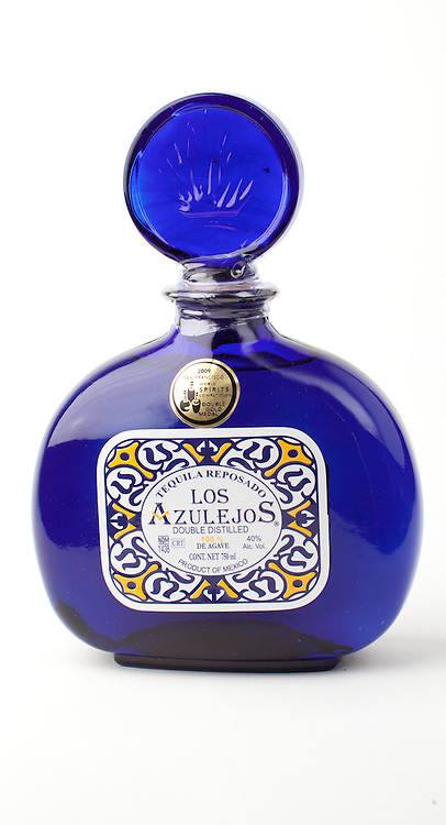 Los Azulejos reposado -- Image originally appeared in the Tequila Matchmaker: http://tequilamatchmaker.com