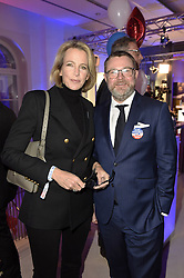Julia Jäkel und Christian Krug bei der Wahlparty zur US-Wahlnacht 2016 in der Hauptstadtrepräsentanz der Bertelsmann SE & Co KGaA in Berlin<br /> <br /> / 081116<br /> <br /> *** Election Party at the Bertelsmann House in Berlin, Germany; November 8th, 2016 ***