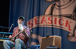 © Licensed to London News Pictures.  02/09/2017; Bristol, UK. SEASICK STEVE performing at The Downs Festival 2017 on The Downs in Bristol. Picture credit : Simon Chapman/LNP