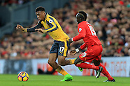 Liverpool v Arsenal 5 March 2017