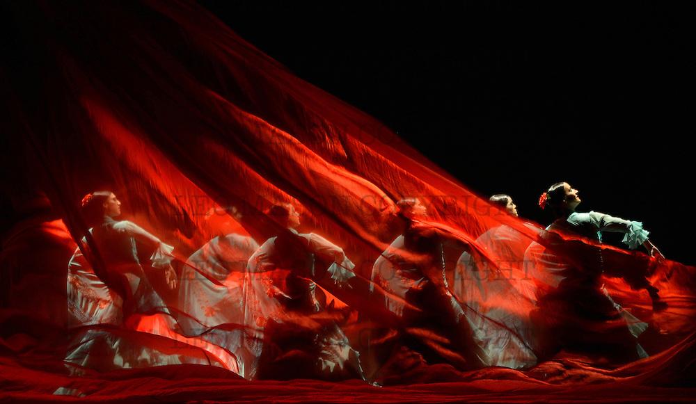 21.03.2013 Flamenco Festival London Sadlers Wells Theatre UK Ballet Flamenco de Andalucia performing Metafora