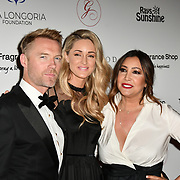 Ronan Keating , Storm Keating and Maria Bravo Arrivers at The Global Gift Gala red carpet - Eva Longoria hosts annual fundraiser in aid of Rays Of Sunshine, Eva Longoria Foundation and Global Gift Foundation on 2 November 2018 at The Rosewood Hotel, London, UK. Credit: Picture Capital