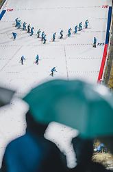 17.01.2020, Hochfirstschanze, Titisee Neustadt, GER, FIS Weltcup Ski Sprung, im Bild Schanzenarbeiter präparieren den Aufsprung // Workers on the Hill during the FIS Ski Jumping World Cup at the Hochfirstschanze in Titisee Neustadt, Germany on 2020/01/17. EXPA Pictures © 2020, PhotoCredit: EXPA/ JFK