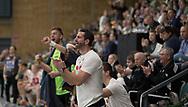 HÅNDBOLD: Cheftræner Ian Marko Fog (Nordsjælland) under kampen i 888-Ligaen mellem Nordsjælland Håndbold og Aalborg Håndbold den 12. december 2017 i Frederiksborg Hallen i Hillerød. Foto: Claus Birch.