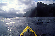 Kayaking, North Shore, Molokai<br />