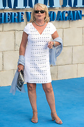 © Licensed to London News Pictures. 16/07/2018. London, UK. Elaine Paige attends the Mamma Mia! Here We Go Again World Film Premiere at Eventime Apollo Hammersmith. Photo credit: Ray Tang/LNP