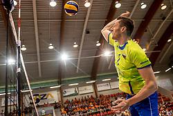 20-05-2018 NED: Netherlands - Slovenia, Doetinchem<br /> First match Golden European League / Toncek Stern #1 of Slovenia