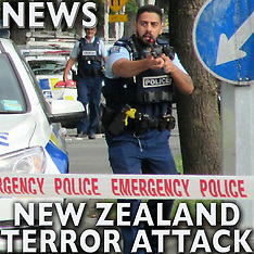 Christchurch Mosque Shootings - 15 Mar 2019